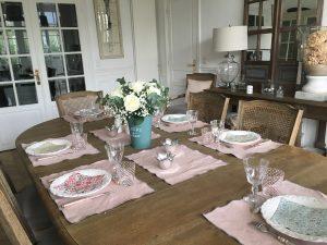 Sets de table en lin lavé